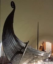 Original Vikingship, 820 AD © Nancy Bundt/VisitOSLO