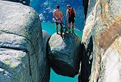 The Kjerag Boulder above the Lysefjord © Per Eide/Region Stavanger